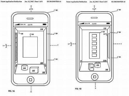 Interfejs 3D Apple