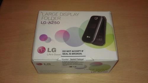 LG A250 telefon z klapką
