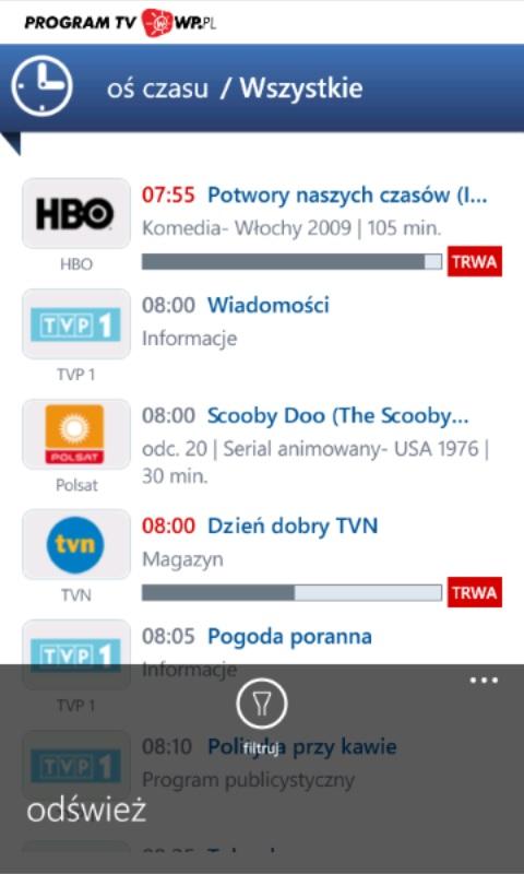 Program TV WP7