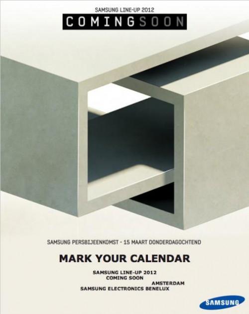 15 marca poznamy plany Samsunga na rok 2012