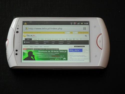 Test Sony Ericsson Live with Walkman