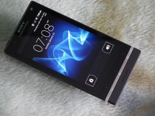 Test Sony Xperia S