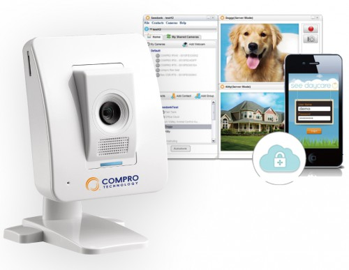 Compro IP60 Camera iSecurity Cloud Solution