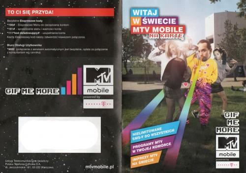 Ulotka MTV Mobile