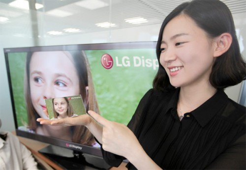 LG HD display
