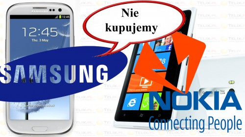 Samsung nie kupi Nokii