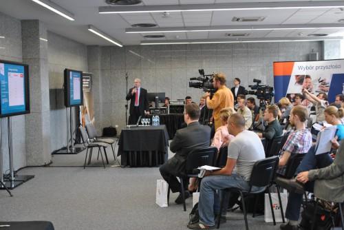 Konferencja TK Telekom i PKP Intercity