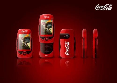 CocaCola Concept Mobile Phone