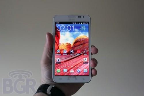 Galaxy Note II ma być prawdziwym gigantem