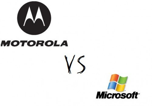 Wojny patentowe: Motorola kontra Microsoft