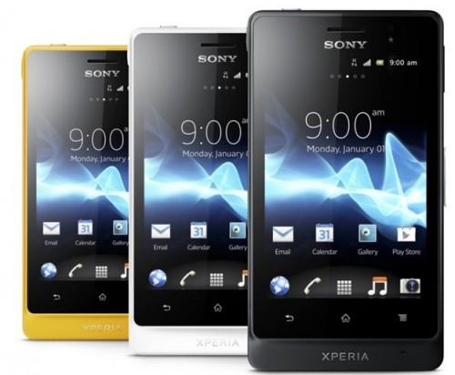 Aktualizacja Sony Xperii Go