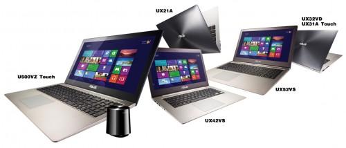 ASUS: nowe modele ultraprzenośnych notebooków ZENBOOK