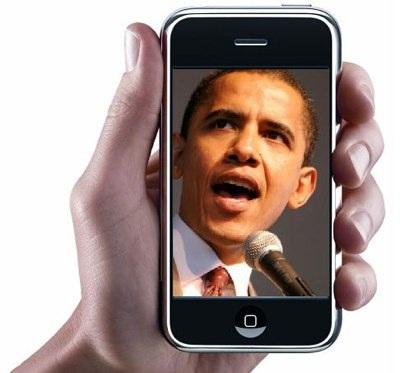 Demokraci przekazują darowizny dla Obamy SMS-ami i online