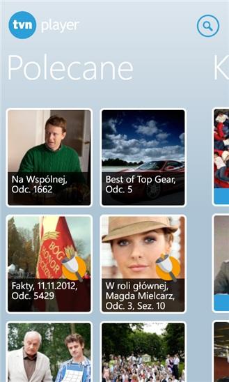 Nowe aplikacje na smartfony z Windows Phone: TVNPlayer i Coigdzie