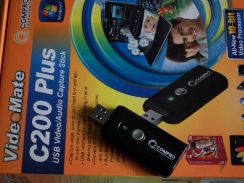 VideoMate C200 Pro Adapter Do Zgrywania Multimediw Ze