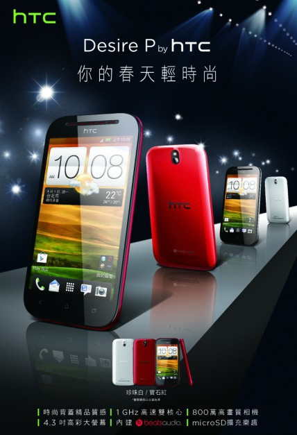 HTC Desire P i Q
