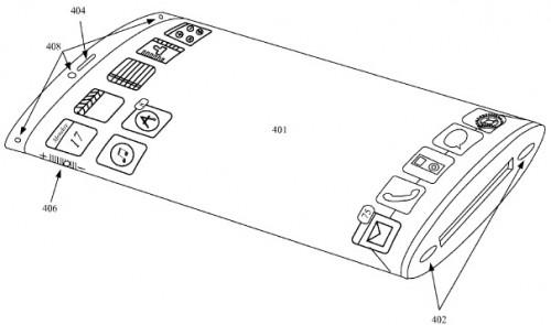 Apple patentuje wygięty smartfon i długopis