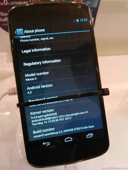 Android 4.3 na Thailand Mobile Expo ( zdjęcia i wideo )