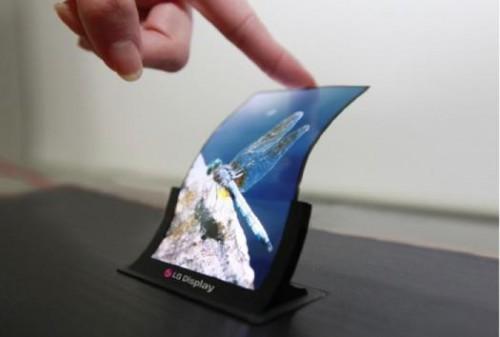 Elastyczny wyświetlacz OLED od LG
