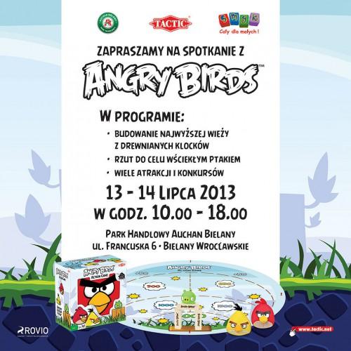 Angry Birds przylecą do Bielan