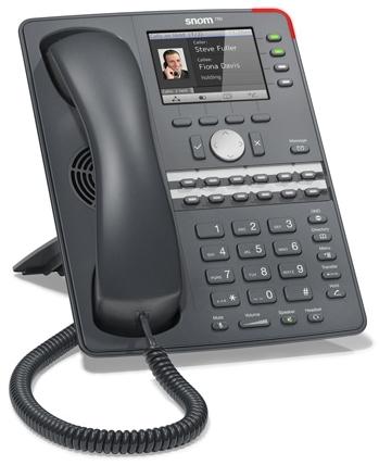 Telefony IP snom