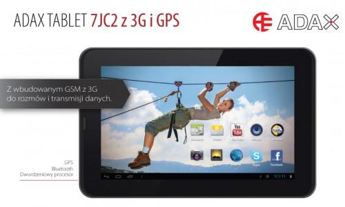 Adax 7JC2-3G/GPS