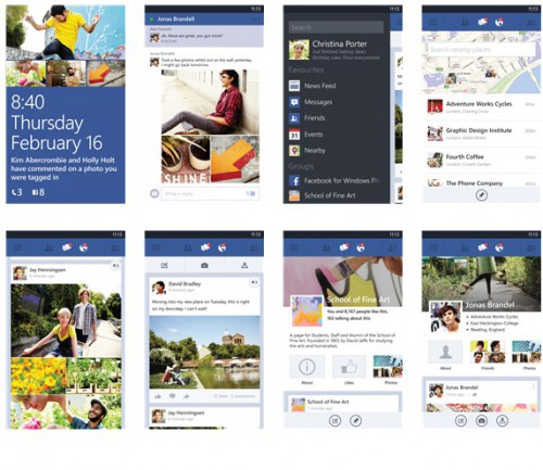 Facebook Windows Phone 7