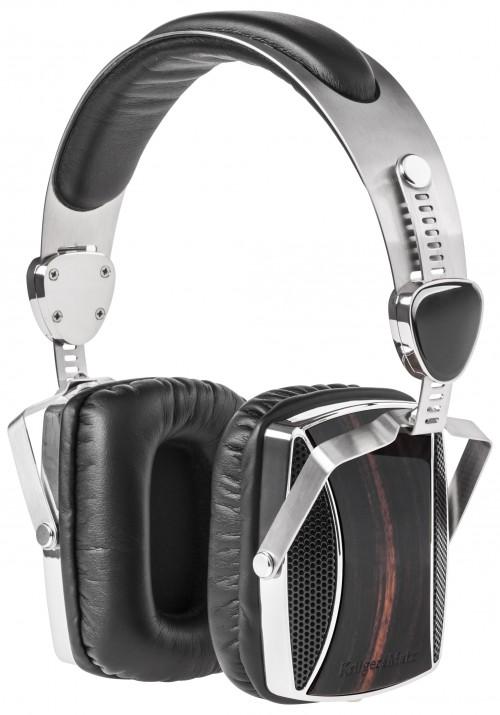 Słuchawki z drewnianą obudową dla miłośników muzyki