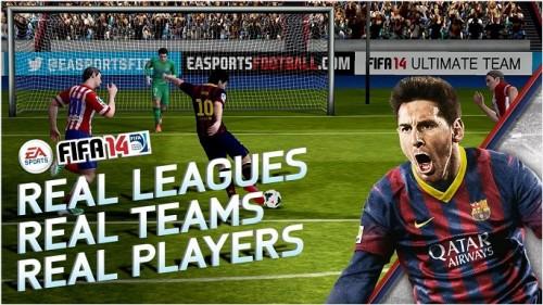 FIFA 2014 dostępna za darmo dla użytkowników Android oraz iOS