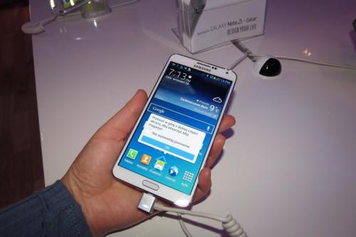 Samsung - prezentacja GALAXY Note 3 i Samsung GALAXY Gear