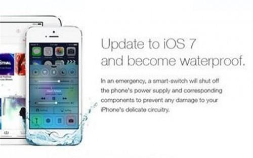 iPhones fake waterproof