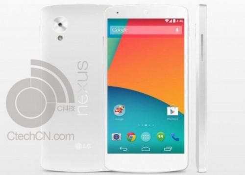 Biały Nexus 5