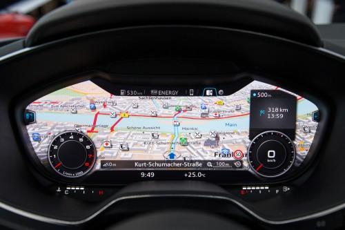 Cyfrowy kokpit NVIDIA w samochodach Audi