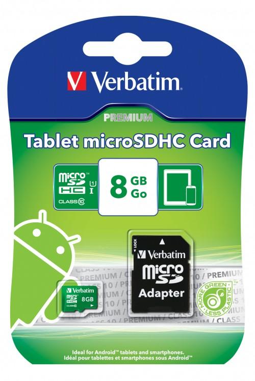 Verbatim microSDHC