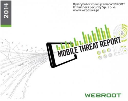 Webroot opublikowała nowy raport na temat zagrożeń na urządzenia mobilne