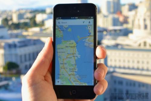 Mapy na smartfonie