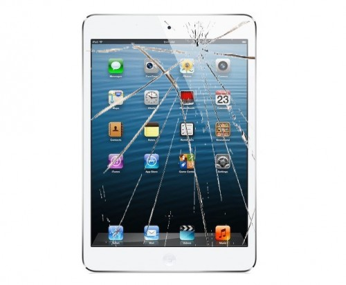 iPad mini rozbity ekran