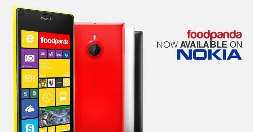Nokia and foodpanda