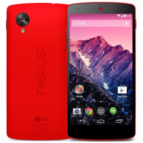 Czerwony Nexus 5