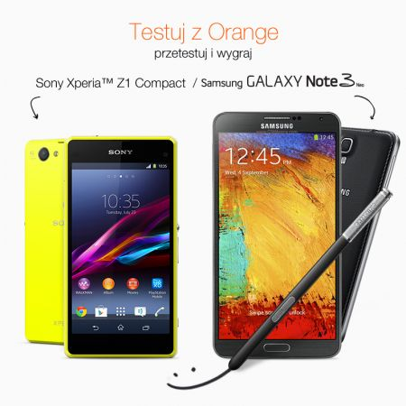 Samsung Galaxy Note 3 Neo lub Sony Xperia Z1 Compact