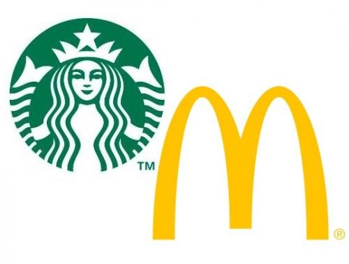 Mobilne zamówienia w Strabucks i Mcdonalds