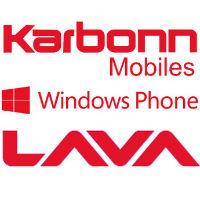 Darmowy Windows Phone: Karbonn i Lava