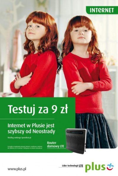 Plus LTE - reklama
