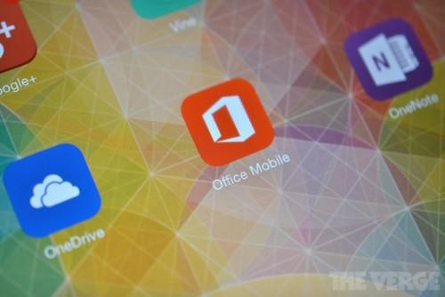 Microsoft Office na iPada