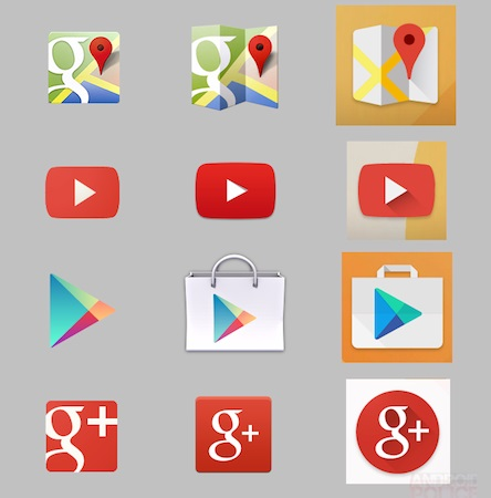 Android ikony
