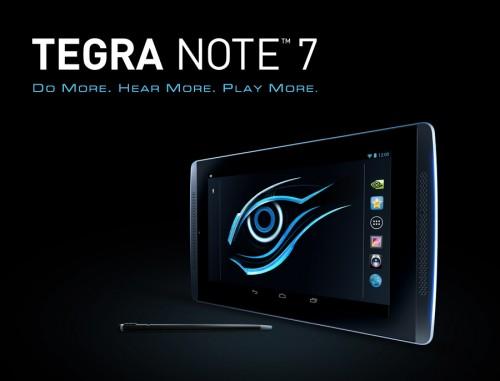 Gigabyte Tegra Note 7