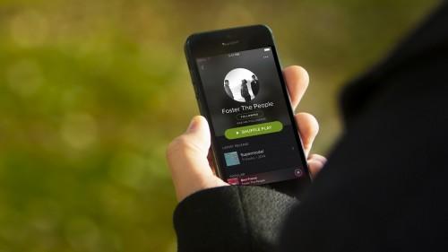 Spotify black