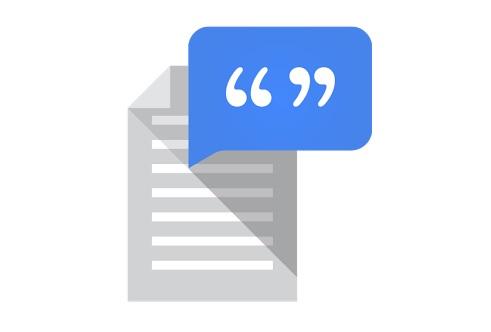 Zamiana tekstu na mowę Google