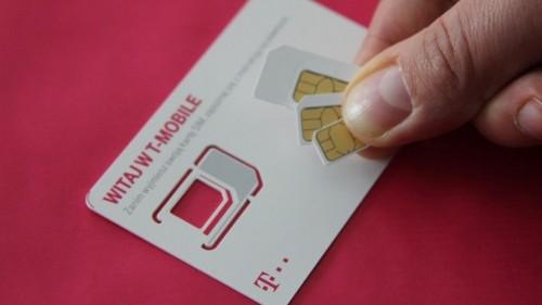 T Mobile Karta Usim Do Sieci Lte Wideo Portal Telekomunikacyjny
