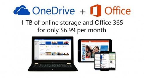 OneDrive z Office 365